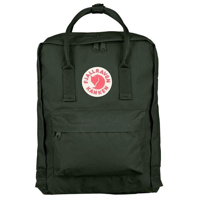 Fjallraven Kanken 狐狸袋 背囊 書包戶外背包 School bag outdoor backpack 16L - Deep Forest