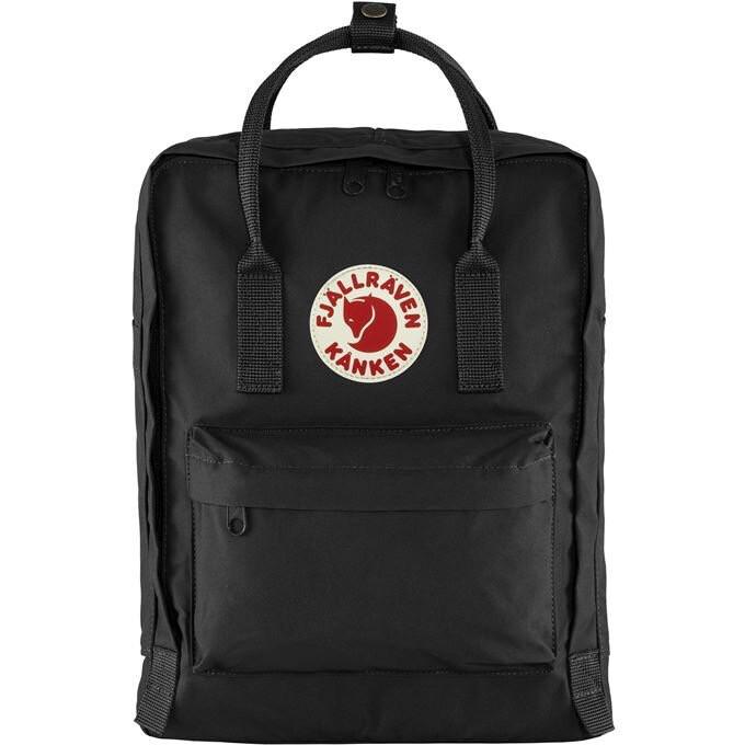 Fjallraven Kanken 狐狸袋 背囊 書包戶外背包 School bag outdoor backpack 16L - Black