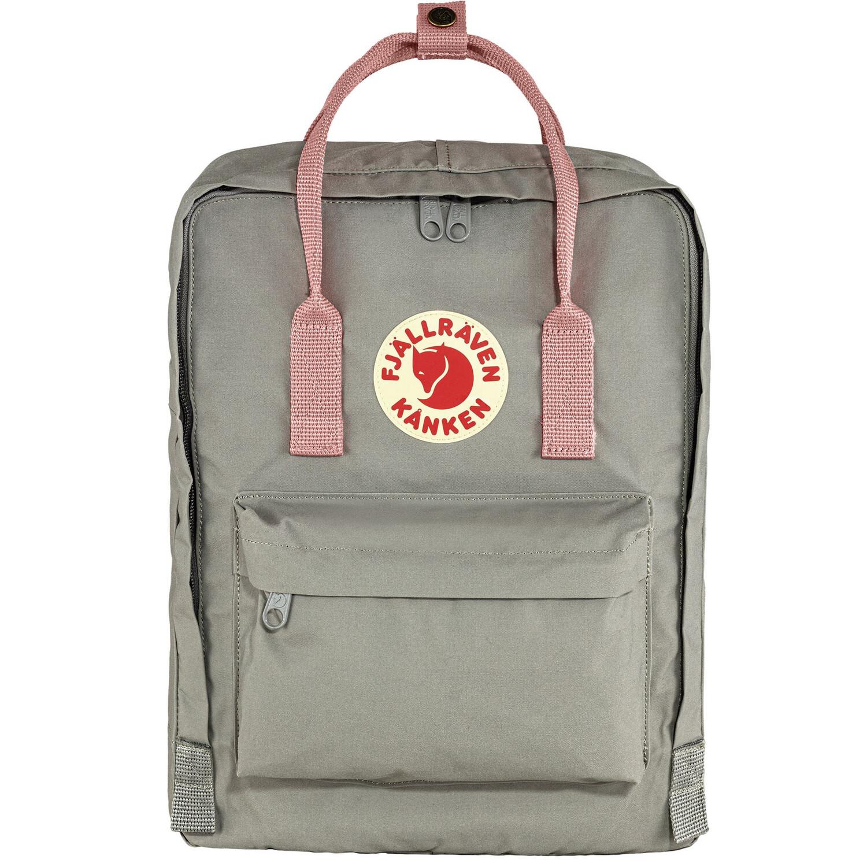 Fjallraven Kanken 狐狸袋 背囊 書包戶外背包 School bag outdoor backpack 16L - Fog / Pink