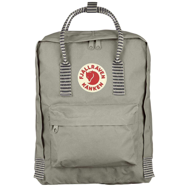 Fjallraven Kanken 狐狸袋 背囊 書包戶外背包 School bag outdoor backpack 16L - Fog / Striped