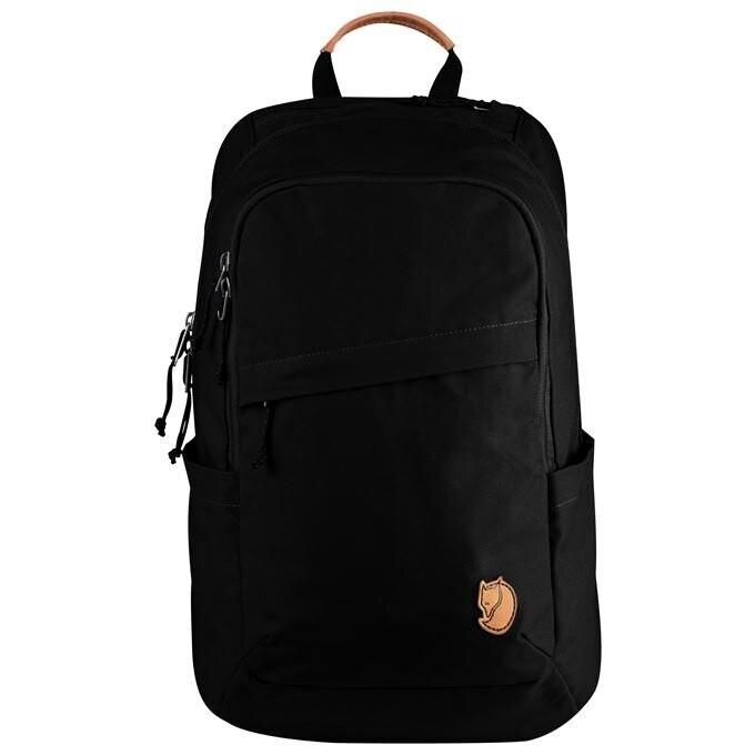 Fjallraven [狐狸袋] Raven 20 Daypack 日用筆電15寸背包20L - Black