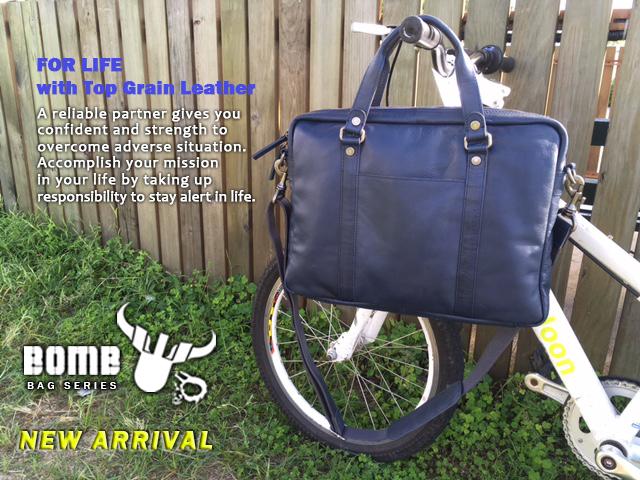 牛皮公事包 Cow Leather Briefcase BB001