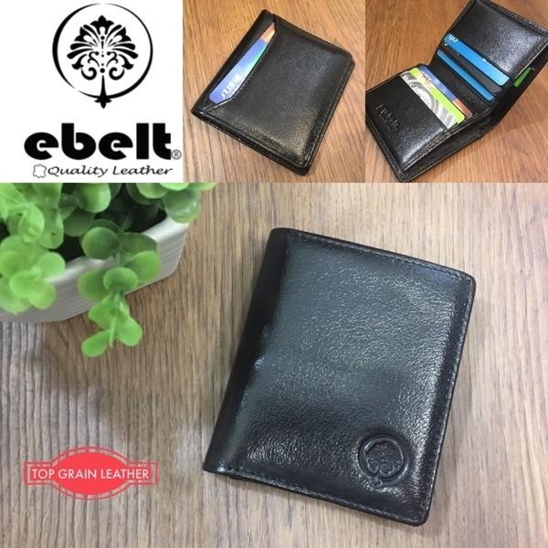 [香港品牌 EBELT] 頭層水牛皮薄銀包 真皮皮夾錢包 Full Grain Buffalo Leather Slim Wallet - WM0125