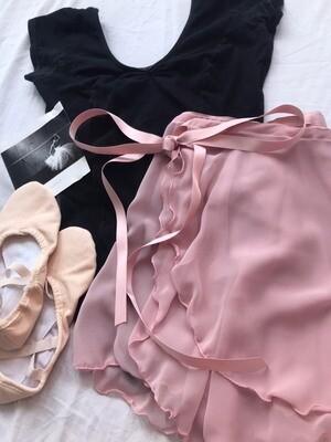 -ラップスカート Wrap skirt
