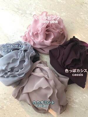 巻きスカート上品な4色