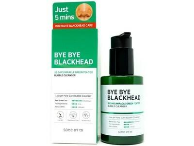 Кислородное очищающее средство против чёрных точек Some By Mi Bye Bye Blackhead Bubble Cleanser, 120 мл