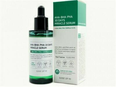 Кислотная сыворотка для проблемной кожи Some By Mi AHA BHA PHA 30 Days Miracle Serum, 50 мл