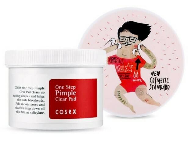Очищающие пилинг-пэды для лица с BHA-кислотой COSRX One Step Pimple Clear Pad, 70 шт