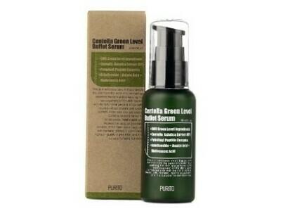 Увлажняющая сыворотка для восстановления кожи с центеллой PURITO Centella Green Level Buffet Serum, 60 мл