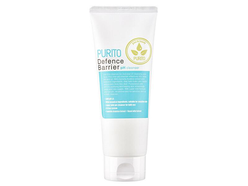 Слабокислотный гель для деликатного очищения кожи PURITO Defence Barrier Ph Cleanser, 150 мл