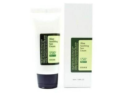 Солнцезащитный крем с соком алоэ вера Cosrx Aloe Soothing Sun Cream, 50 мл