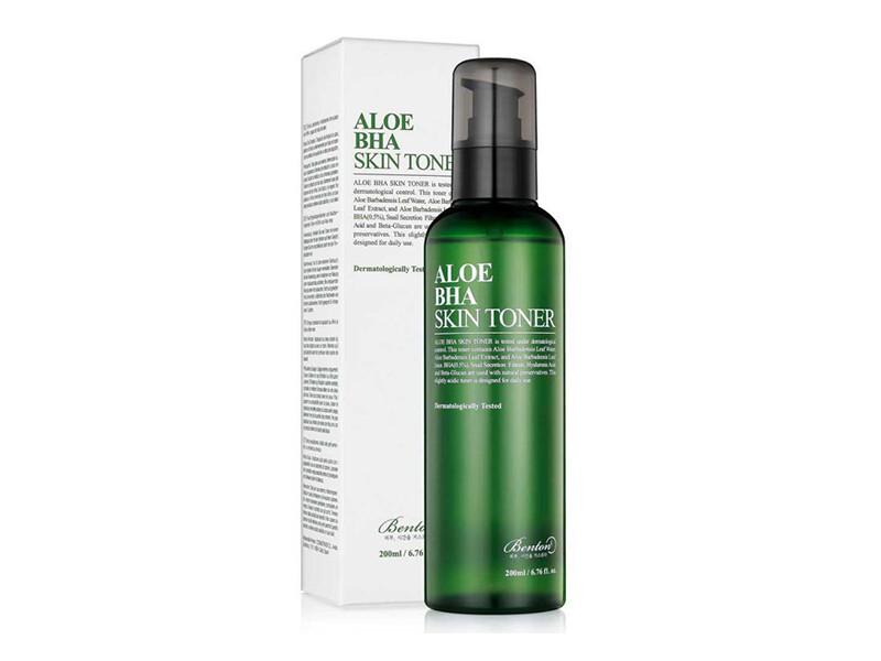 Тонер для лица с алоэ и BHA кислотой Benton Aloe BHA Skin Toner, 200 ml.