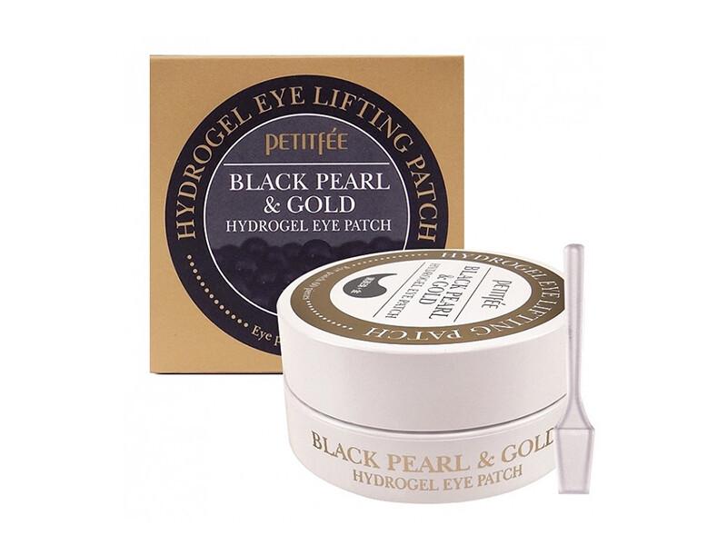 Гидрогелевые патчи Petitfee Black Pearl & Gold Hydrogel Eye Patch, 60 шт