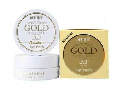 Гидро-гелевые патчи Petitfee Premium Gold&EGF Eye Patch, 60 шт