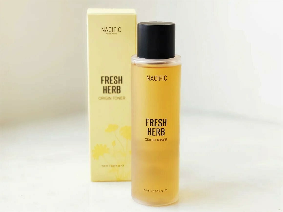 Освежающий органический тонер для проблемной кожи NACIFIC Fresh Herb Origin Toner, 150 мл.