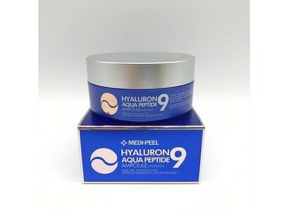 Гидрогелевые увлажняющие патчи с пептидами MEDI-PEEL Hyaluron Aqua Peptide 9 Ampoule Eye Patch, 60 шт
