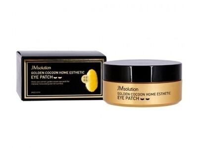 Гидрогелевые патчи с протеинами золотого шелкопряда JMsolution Golden Cocoon Home Esthetic Eye Patch, 60 шт
