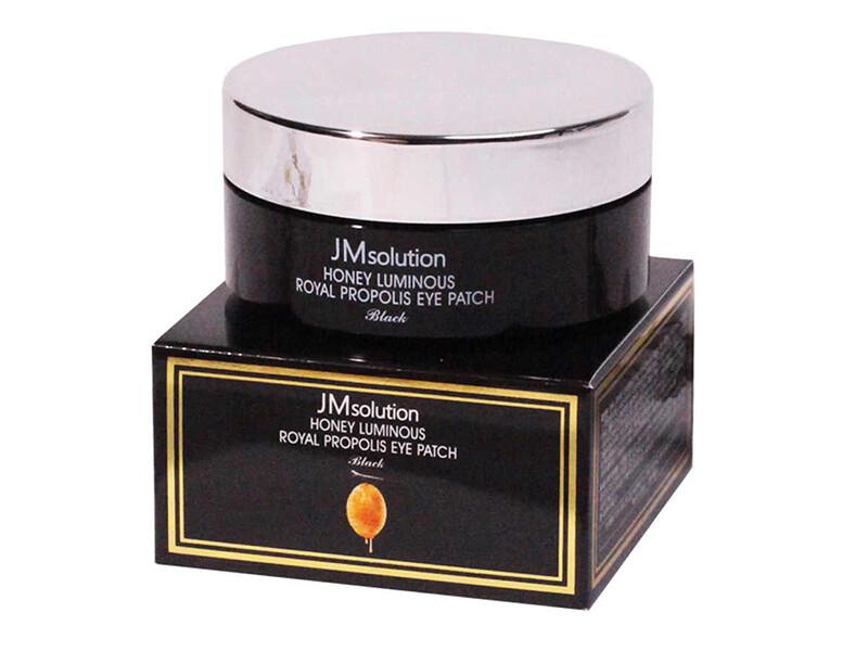 Гидрогелевые патчи JMsolution Honey Luminous Royal Propolis Eye Patch, 60 шт