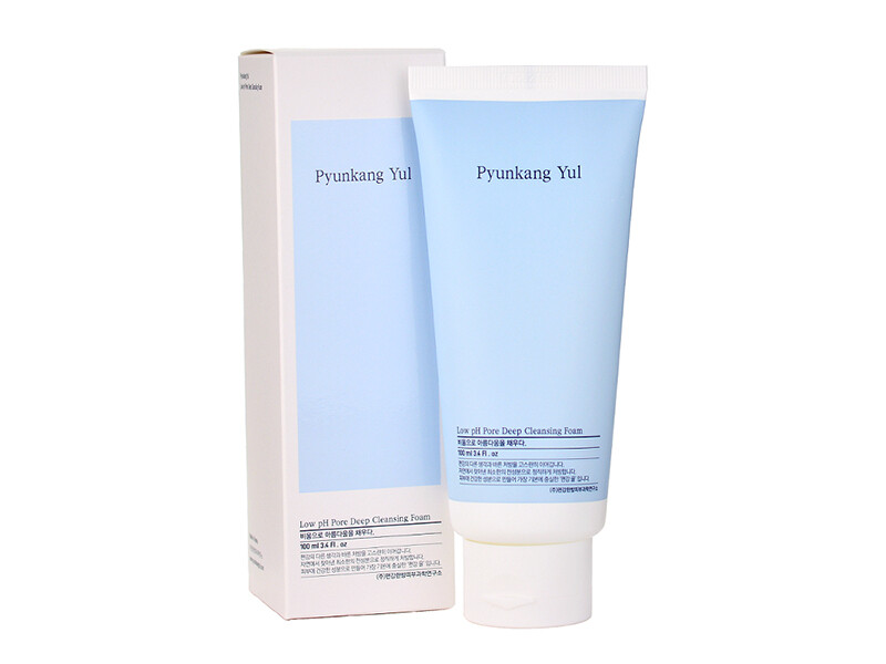 Слабокислотная пенка для умывания Puynkang Yul Low pH Pore Deep Cleansing Foam, 100 мл