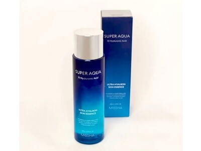 Увлажняющая эссенция для лица MISSHA Super Aqua Ultra Hyalron Skin Essence (Essence in Toner), 200 мл