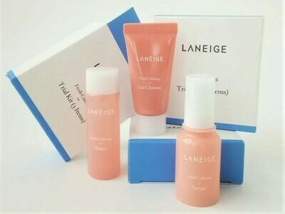 Увлажняющий мини-набор для чувствительной кожи Fresh Calming Trial Kit 3 items