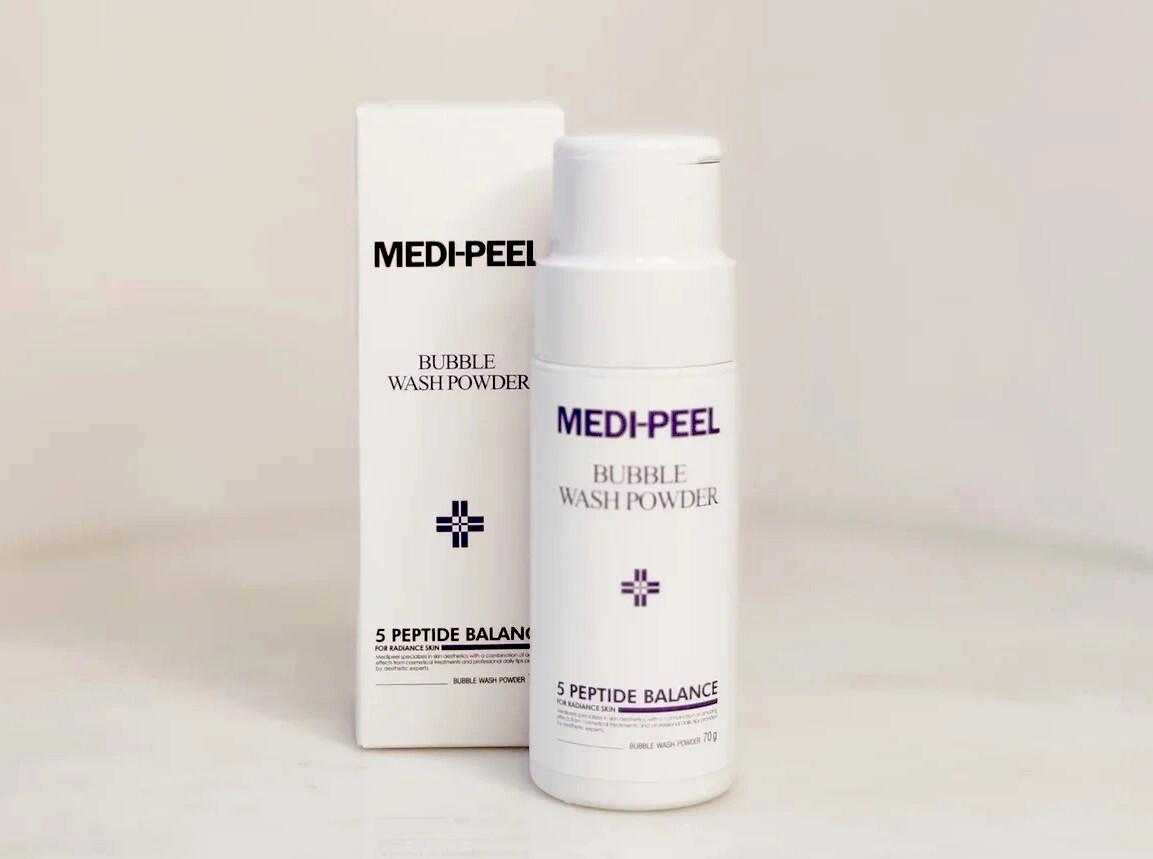 Энзимная пудра Medi-peel Bubble Wash Powder, 70 гр