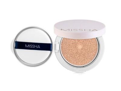 Матирующий тональный кушон  Missha M Magic Cushion Cover Lasting Up SPF50+/PA+++ , 15 гр