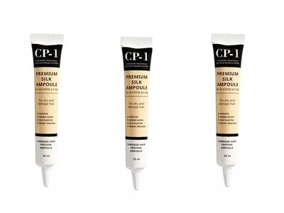 Несмываемая шёлковая сыворотка для волос CP-1 Premium Silk Ampoule, 25 мл