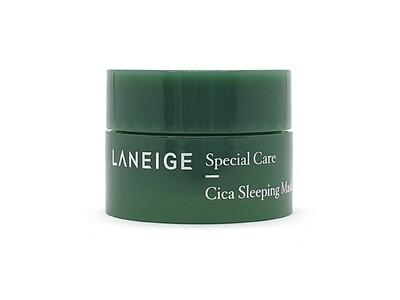 Ночная успокаивающая маска для лица с центеллой Laneige Cica Sleeping Mask, 10 мл