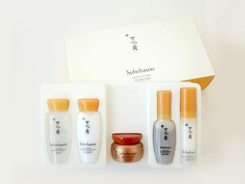 Омолаживающий набор Sulwhasoo basic kit, 5 pcs