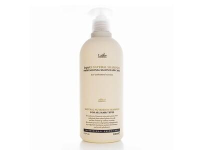 Безсульфатный органический шампунь с эфирными маслами Lador Triplex Natural Shampoo, 530 мл