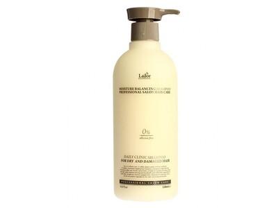 Увлажняющий бессиликоновый шампунь Lador Moisture Balancing Shampoo, 530 мл