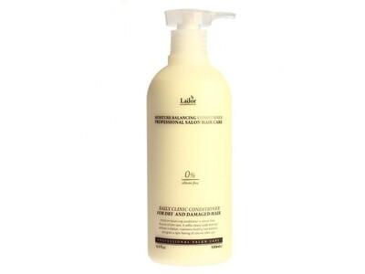 Увлажняющий бессиликоновый бальзам для волос Lador Moisture Balancing Conditioner, 530 мл