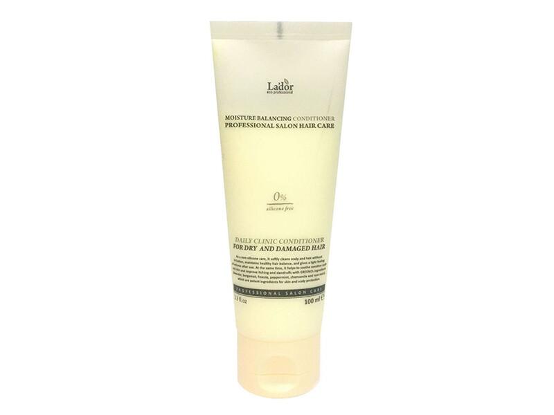 Увлажняющий бессиликоновый бальзам для волос Lador Moisture Balancing Conditioner, 100 мл