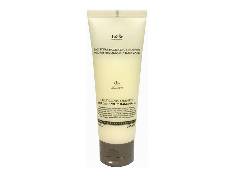 Увлажняющий бессиликоновый шампунь Lador Moisture Balancing Shampoo, 100 мл