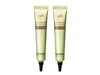 Ночная восстанавливающая сыворотка для волос Lador Keratin Power Fill Up Sleeping Clinic Ampoule, 20 мл