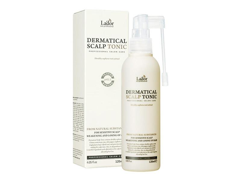 Тоник для кожи головы против выпадения волос Lador Dermatical Scalp Tonic, 120 мл