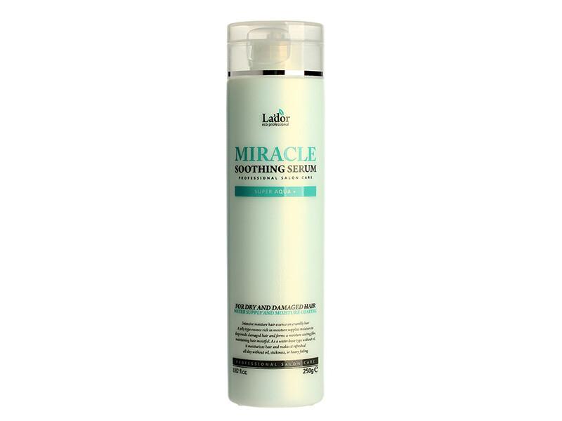Увлажняющая сыворотка для волос с термозащитой Lador Miracle Soothing Serum, 250 мл