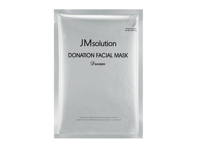 Тканевая омолаживающая питающая и восстанавливающая маска JMSolution Donation Facial Mask Dream, 30 мл