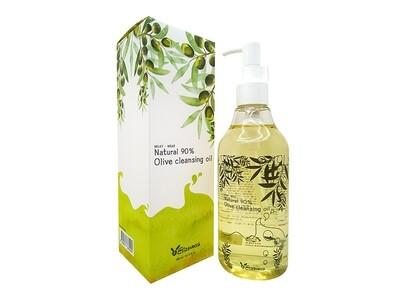 Гидрофильное масло с оливойElizavecca Natural 90% Olive Cleansing Oil, 300 мл