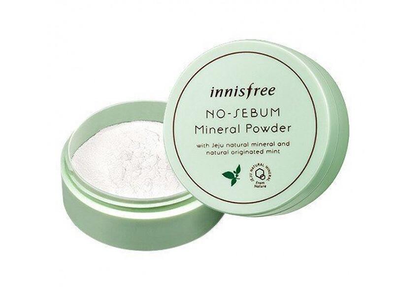 Минеральная рассыпчатая бесцветная пудра Innisfree No-Sebum Mineral Powder, 5 г