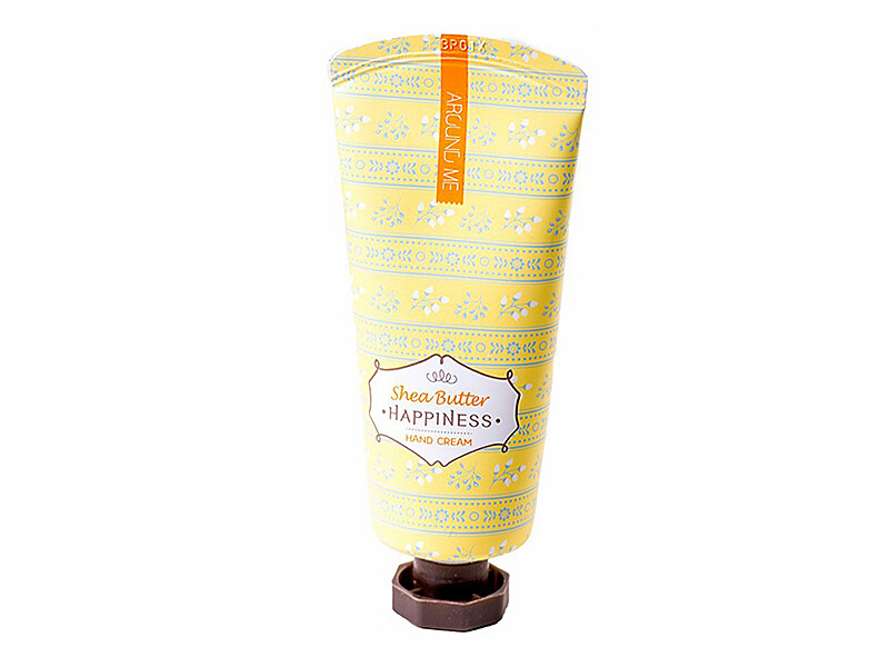 Крем для рук с маслом ши WELCOS Kwailnara Around Me Happniness Hand Cream Shea Butter, 60 мл