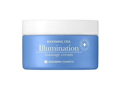 Крем для лица массажный SEOLREIM Blooming Cell Illumination Massage Cream, 90 мл