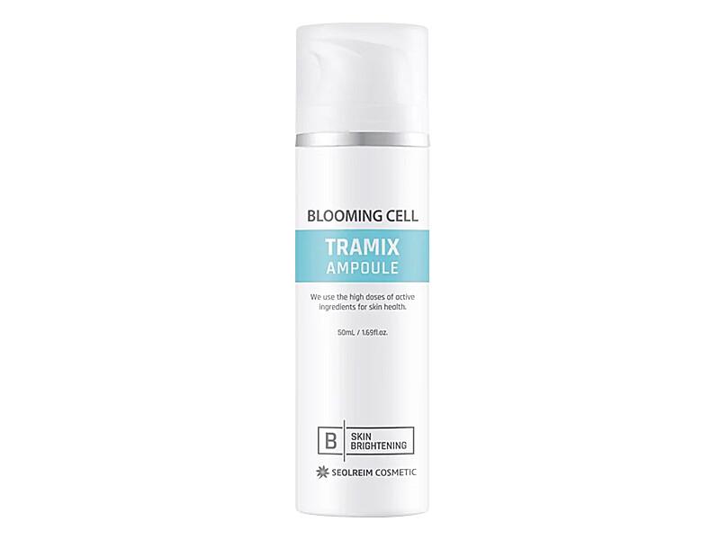 Ампульная восстанавливающая отбеливающая сыворотка SEOLREIM Blooming Cell Tramix Ampoule, 50 мл