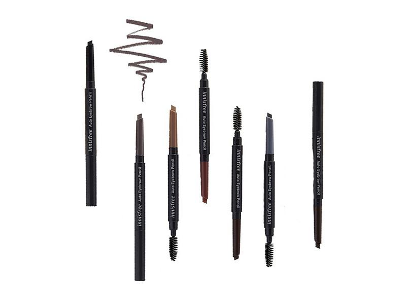 Карандаш для бровей Innisfree Auto Eyebrow Pencil