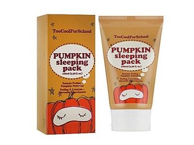 Ночная маска с тыквой Too Cool for School Pumpkin Sleeping Pack, 100 ml