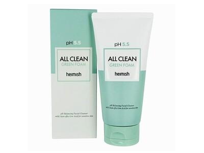Пенка для деликатного очищения HEIMISH All Clean Green Foam pH 5.5, 150 мл
