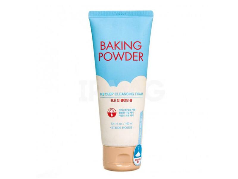 Пенка для глубокого очищения Etude House Baking Powder BB Deep Cleansing Foam, 160 ml
