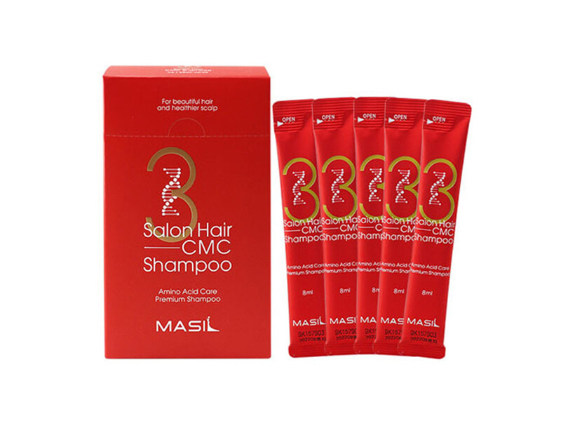 Шампунь с керамидами MASIL 3 Salon Hair CMC Shampoo, саше 8 ml