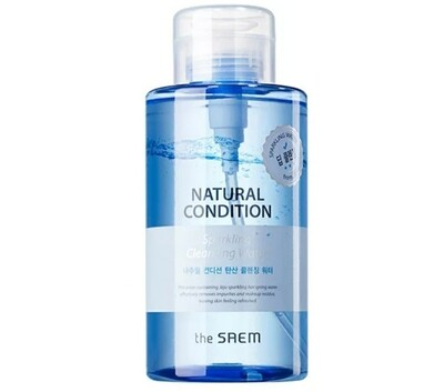Мицеллярная вода The Saem Natural Condition Sparkling Cleansing Water, 500 ml